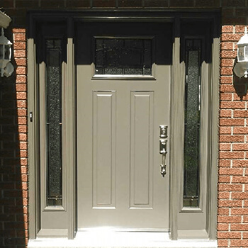 Front Entrance Door with Windows