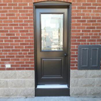 Side Door With Window