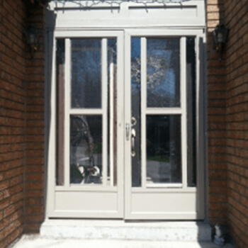 Entrance Door Before