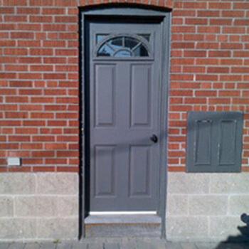 Entrance Door Before