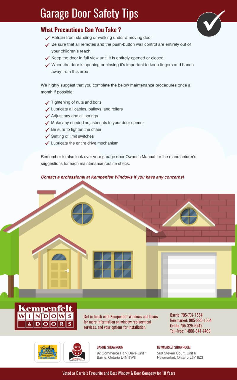 Garage Door Safety Tips Kempenfelt Windows And Doors