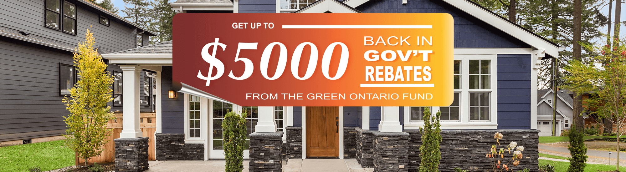 Green Ontario $5000 Rebate