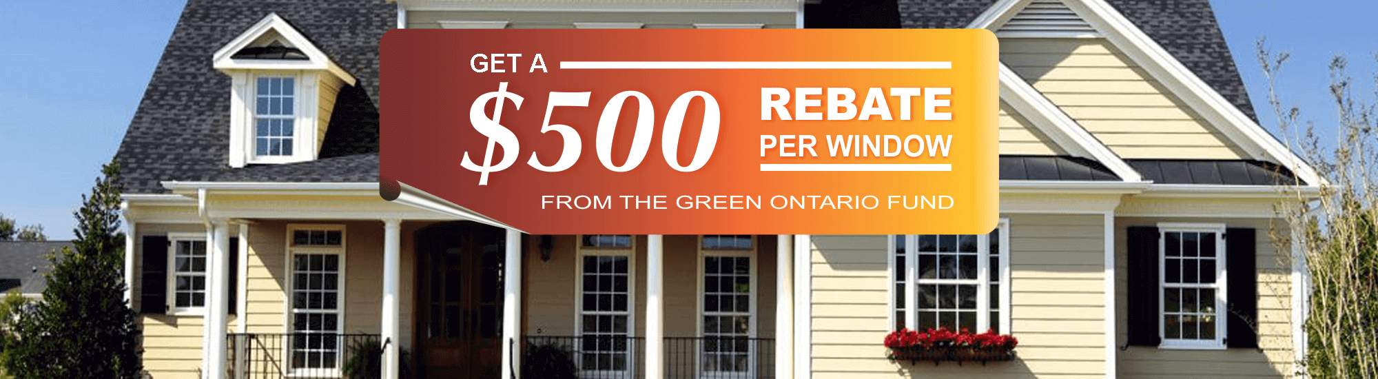 Green Ontario $500 Rebate