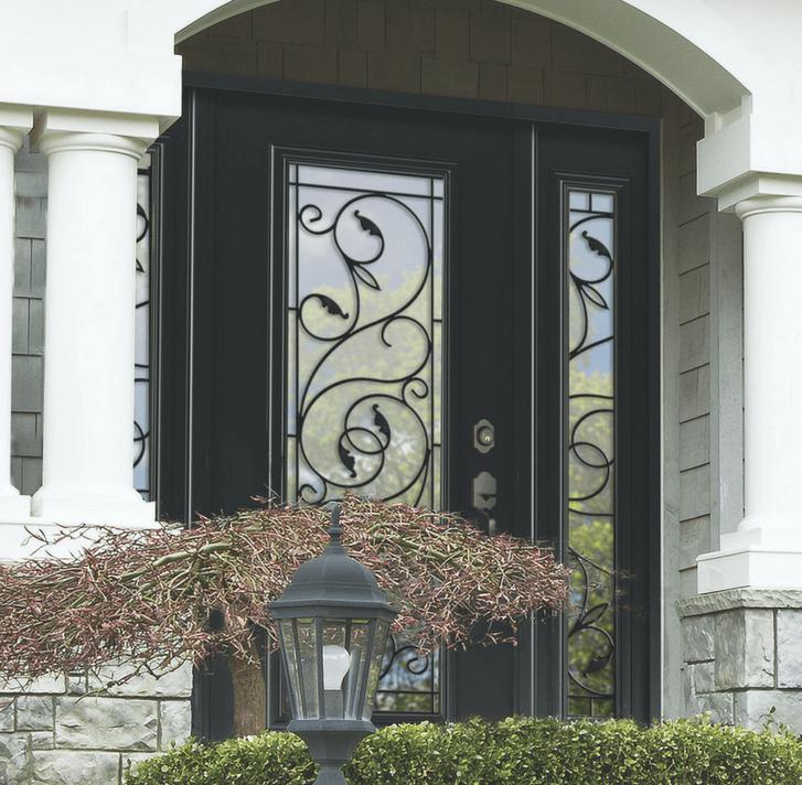 Brela Wrought Iron Door