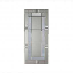 Imola Glass VA Decorative Collection Pewter Caming