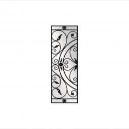 Julietta Decorative Glass Wrought Iron Collection