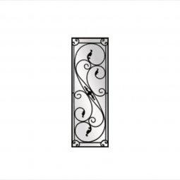 Serafina Decorative Glass Wrought Iron Collection