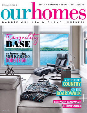 ourhomes Magazine Cover- Summer 2020